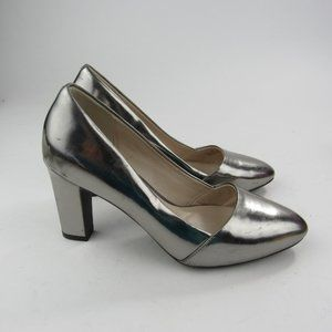 Cole Haan Womens Pumps Shoes Size 6.5B Silver High